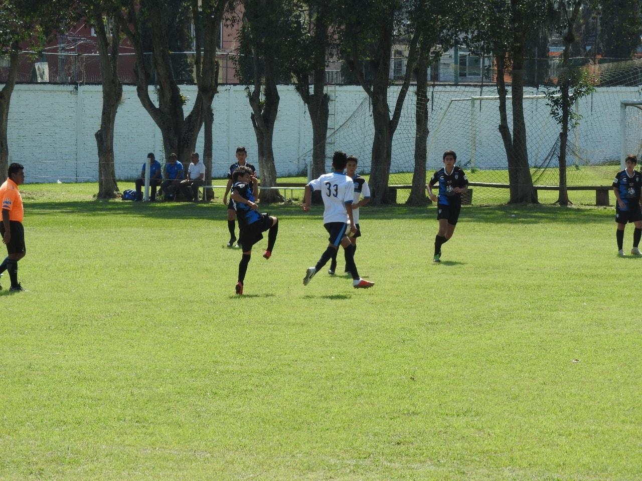 Huerta Sports ante Tezonapa en Liga Nacional de Futbol