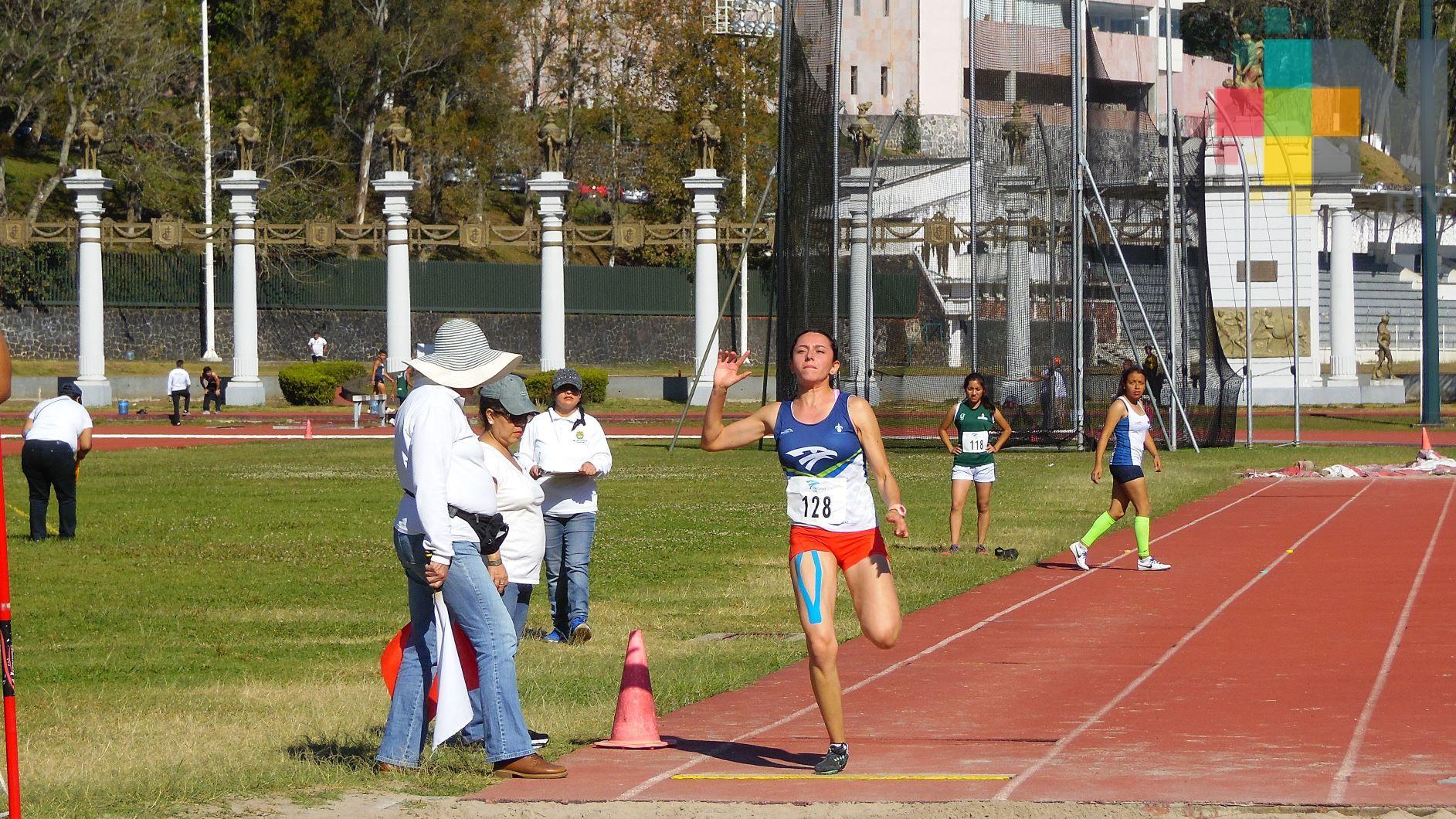 Con atletismo, halterofilia y ajedrez concluyó la Universiada Estatal