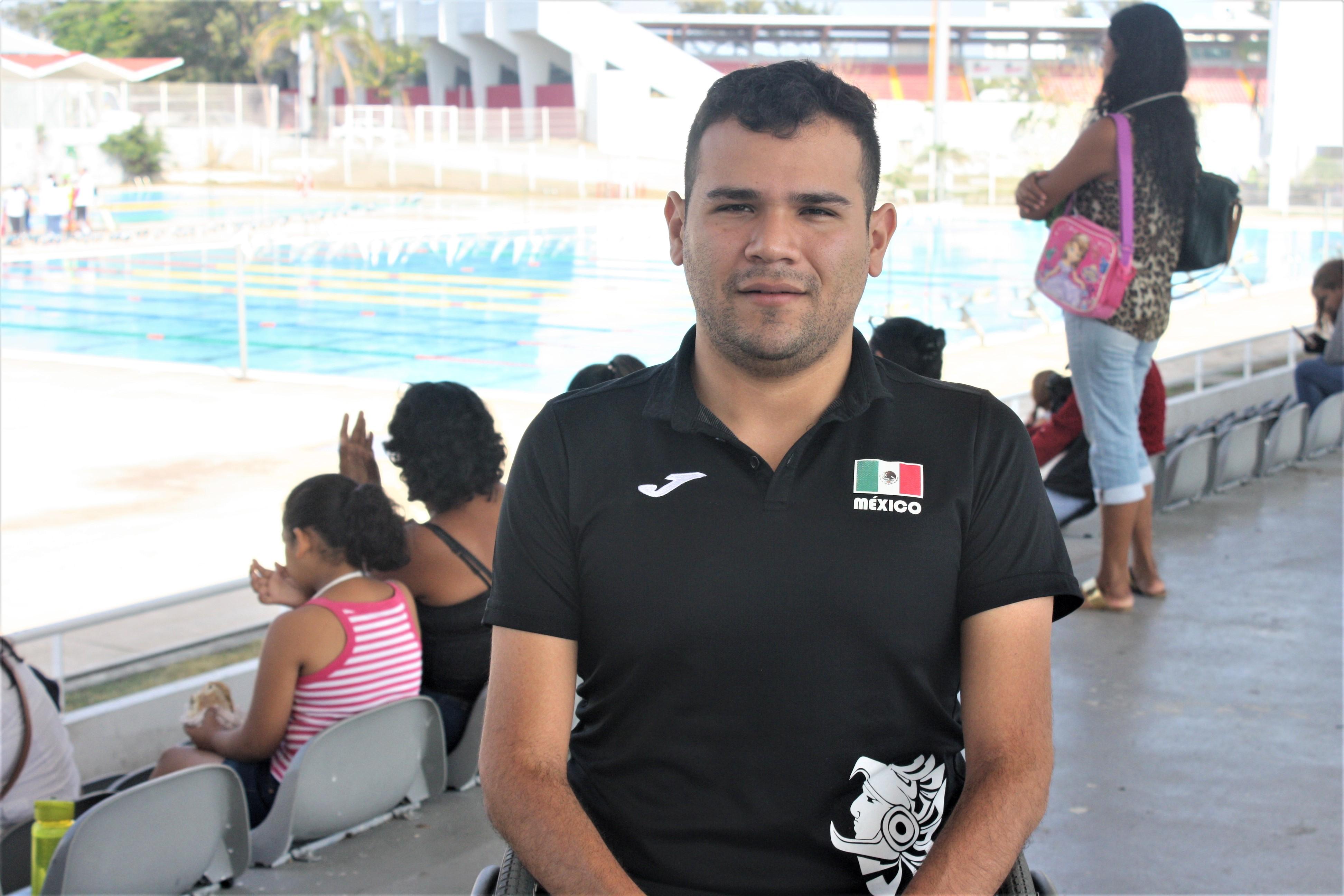 Diego López quiere oros en Parapanamericanos de Lima