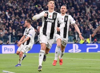 Cristiano Ronaldo guía remontada de Juventus sobre Atlético de Madrid