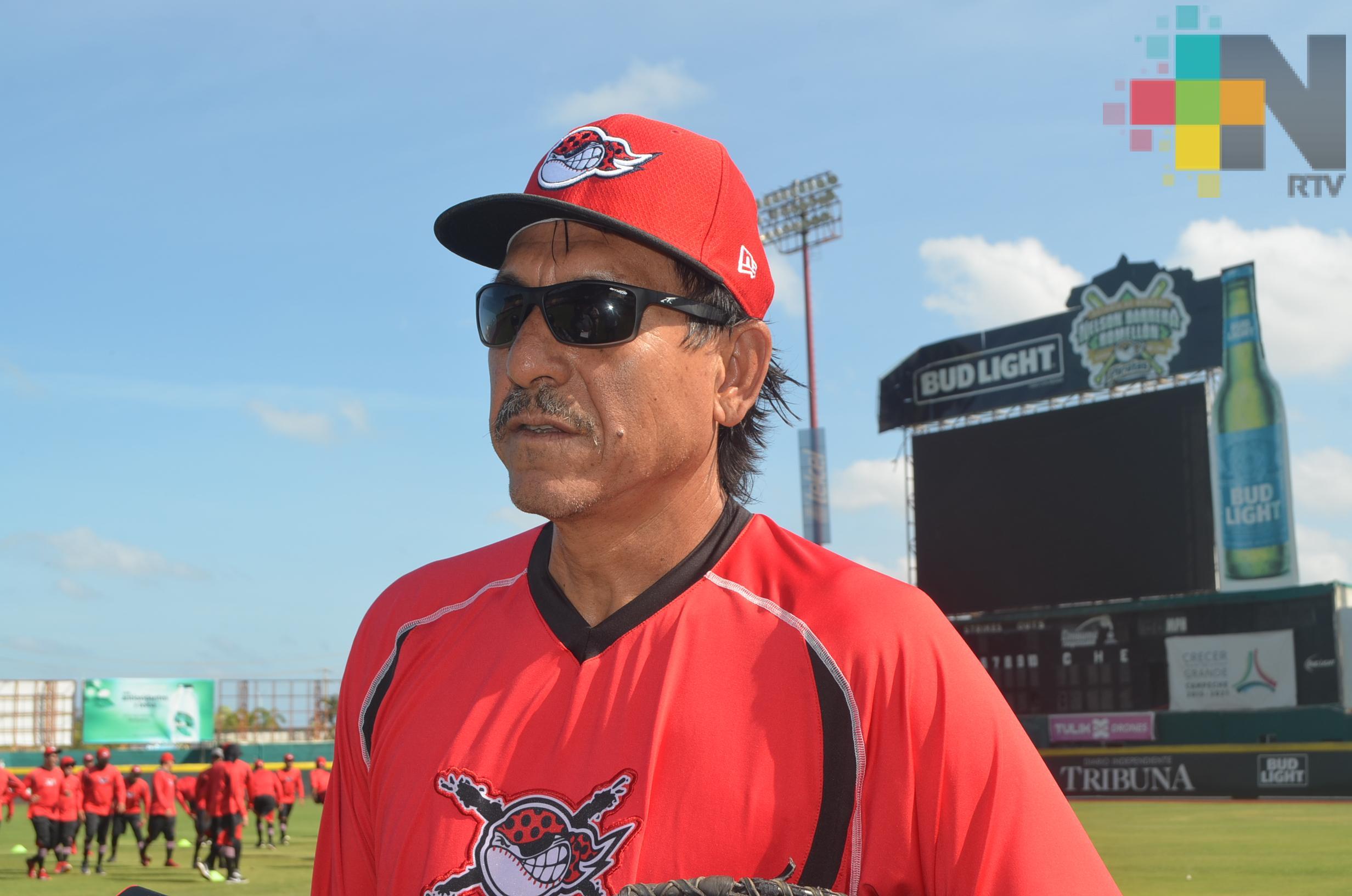 Isidro Márquez regresó a entrenamientos con Piratas de Campeche