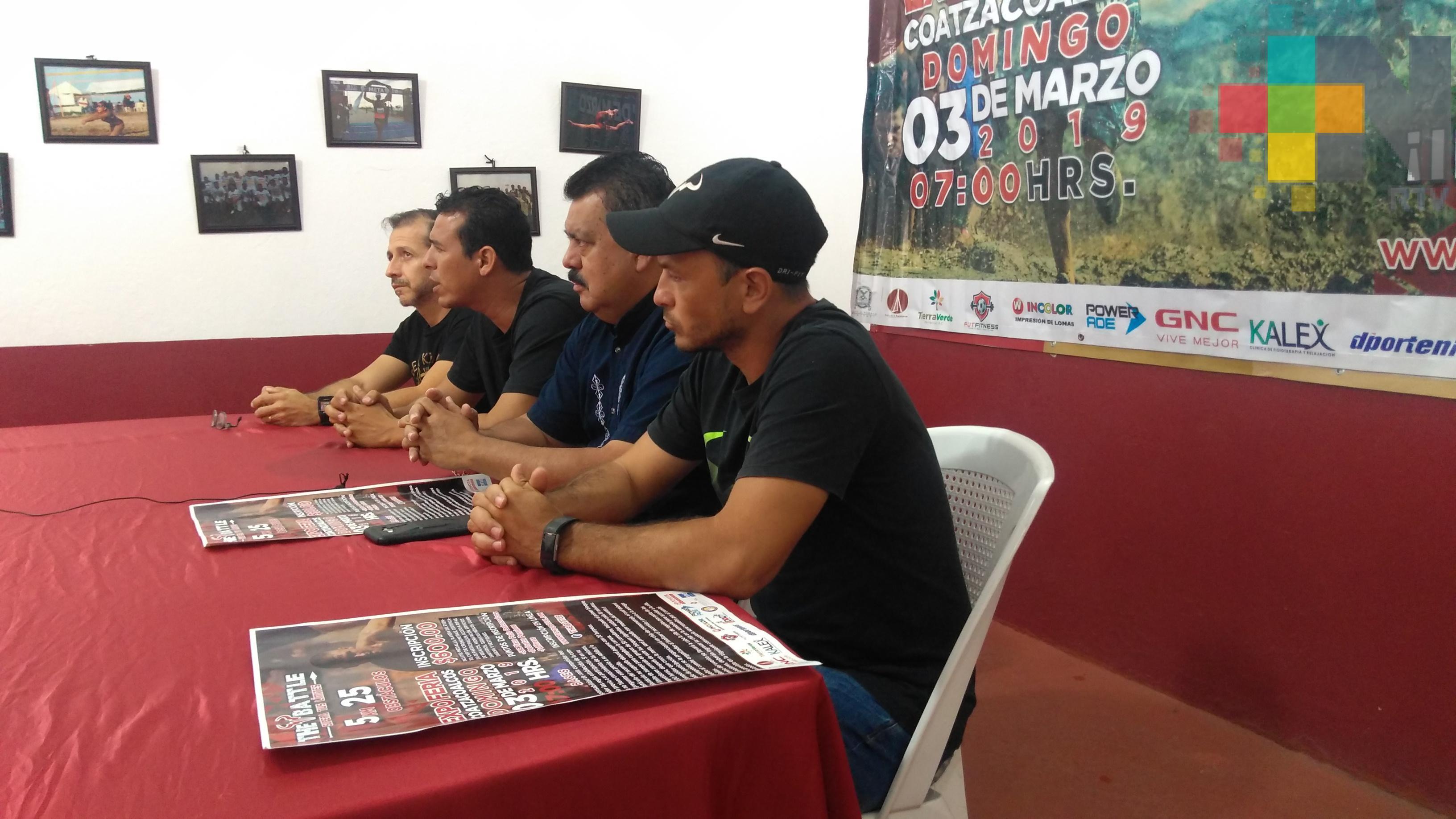 Este domingo The Battle, carrera con obstáculos en Coatzacoalcos