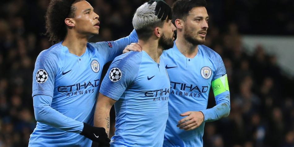 """De la mano de Leroy Sané, Manchester City golea y avanza en """"Champions"""""""