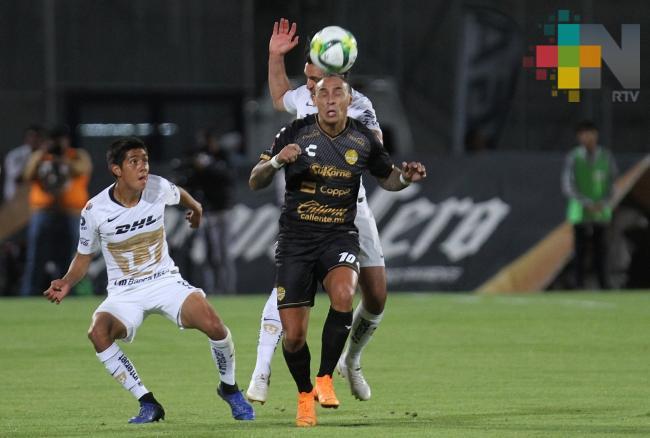 Pumas vence 3-0 a Dorados y avanza en semifinales de Copa MX