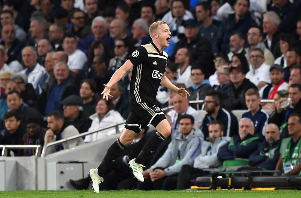 Ajax pegó primero en semifinales de la Champions