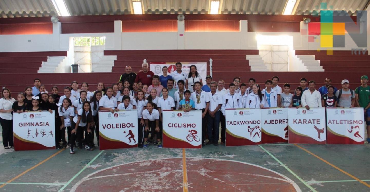 Coatzacoalcos tendrá amplia presencia en los regionales y clasificatorios a olimpiada nacional