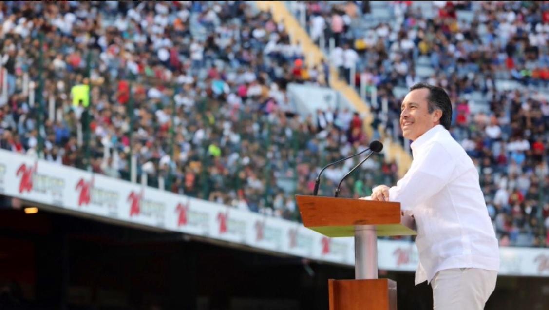 Cuitláhuac García inauguró Nacional Deportivo de Tecnológicos