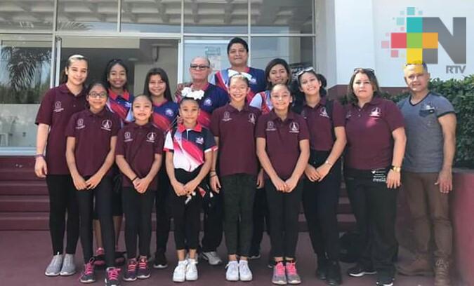 Gimnastas de club Levic por el pase a Olimpiada Nacional
