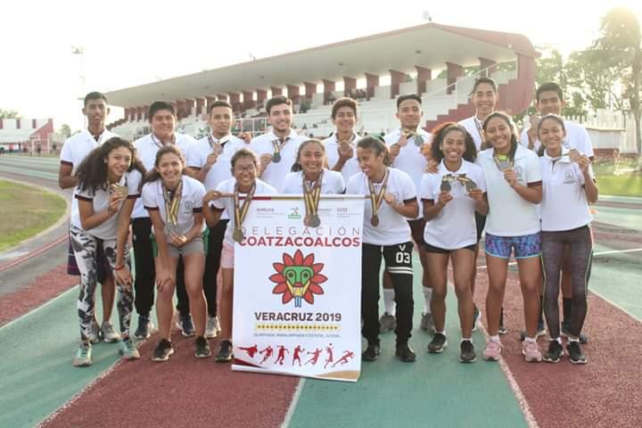 Atletas de Coatzacoalcos triunfaron en Olimpiada Regional