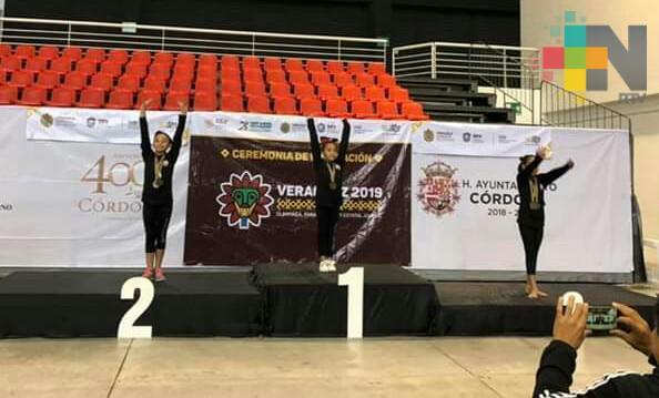 Geraldine Lozano por el pase a Olimpiada Nacional