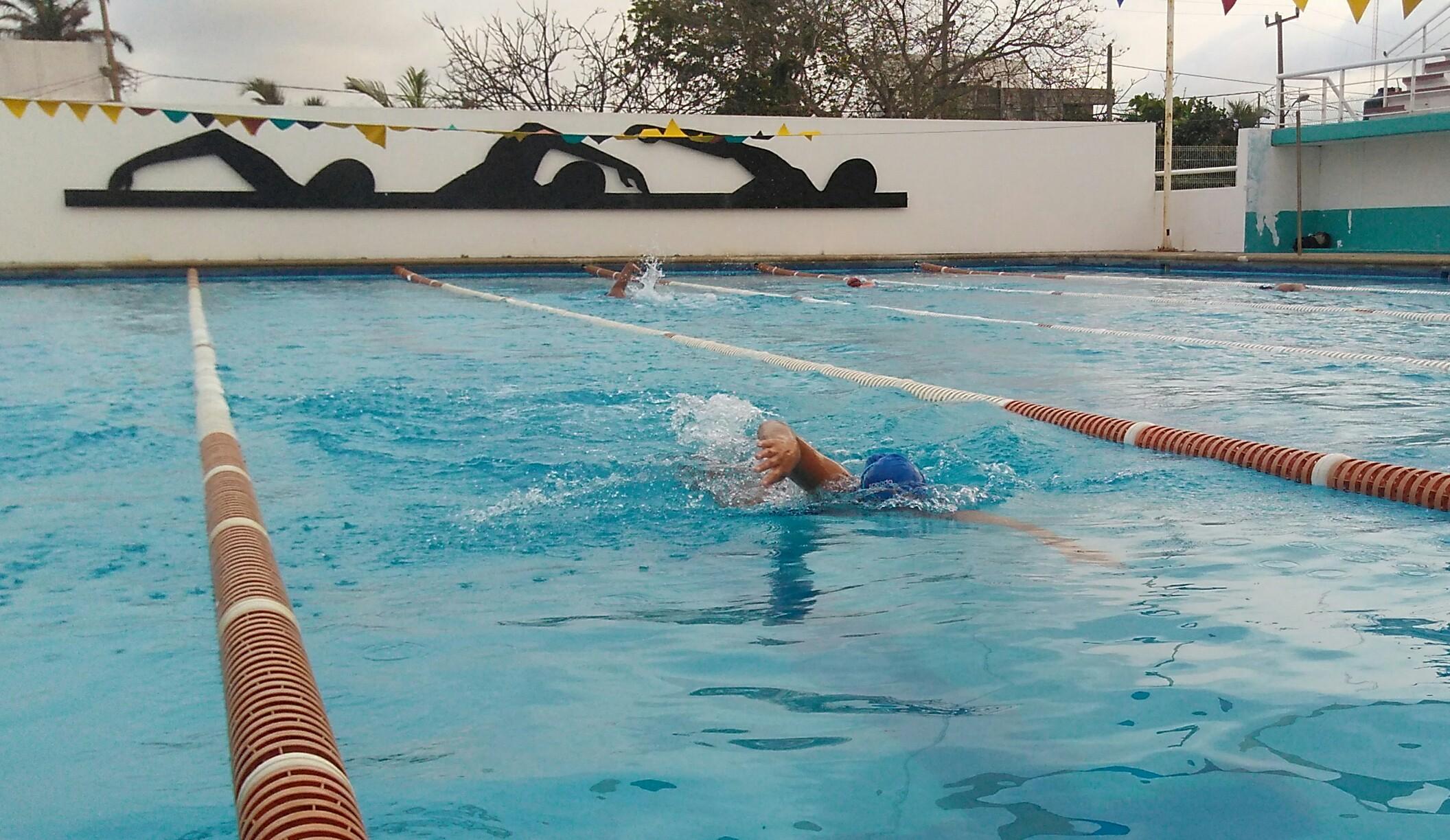 Abril Jiménez a Campeonato Nacional de Aguas Abiertas