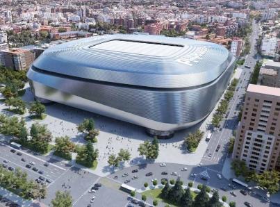 Real Madrid anuncia renovación de su estadio Santiago Bernabéu