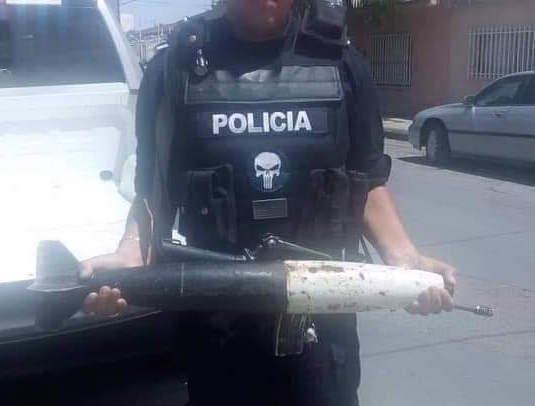 Lleva señora un misil en el canje de armas en Ciudad Juárez