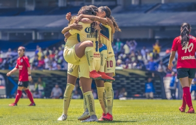 Campeón América femenil inicia defensa del título ante León