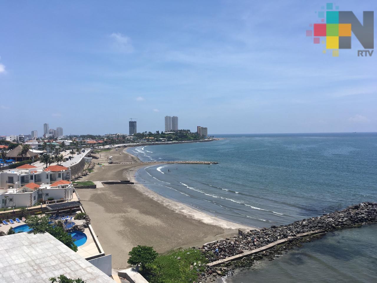 Fin de semana con clima estable a cálido, se espera Surada para el lunes y martes en Veracruz