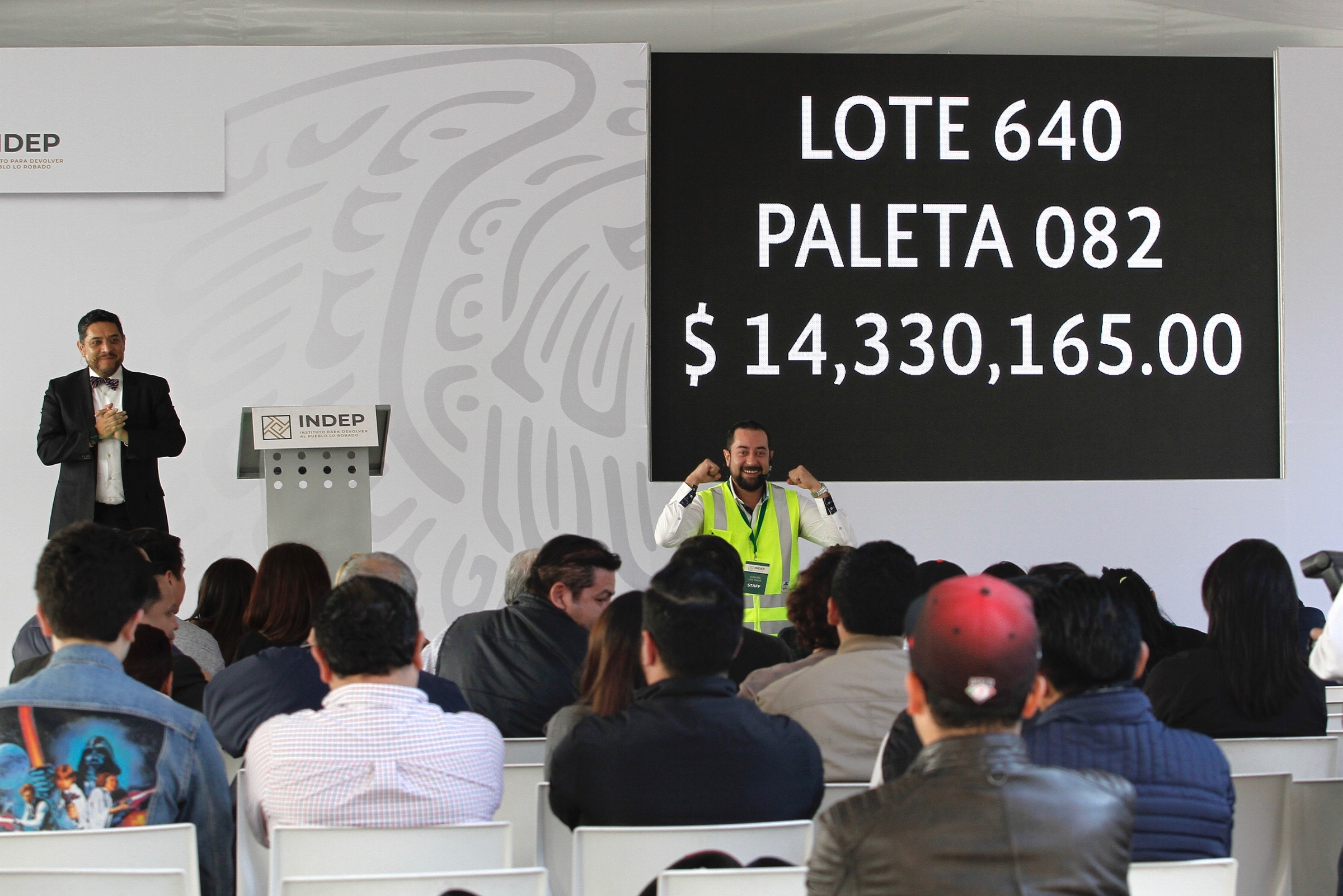 Ciudad Juárez, siguiente plaza de la Subasta Regional del Instituto para Devolver al Pueblo lo Robado