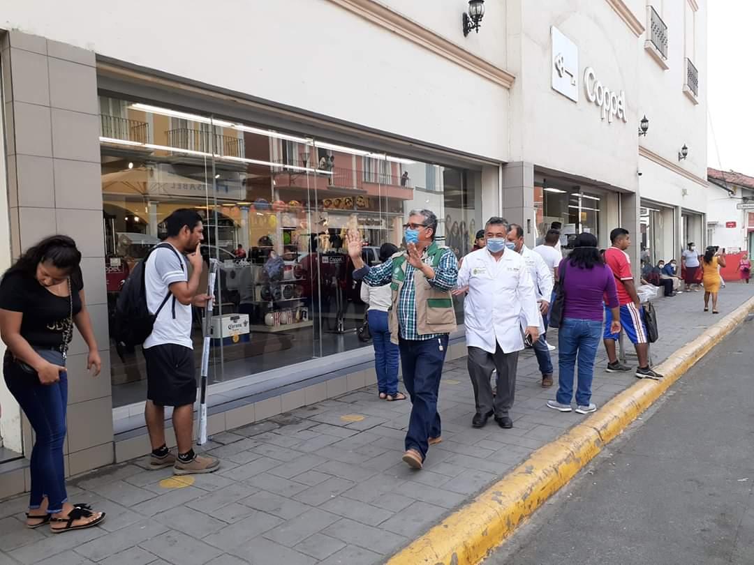 Veracruz, Xalapa y Coatzacoalcos, siguen con los mayores números positivos de COVID-19