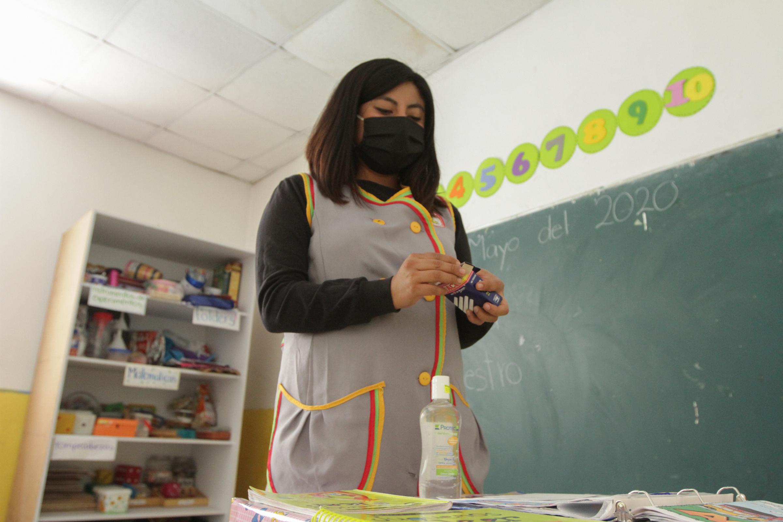 Docentes en Veracruz están de acuerdo con aplicarse vacuna contra COVID-19 para regresar a clases