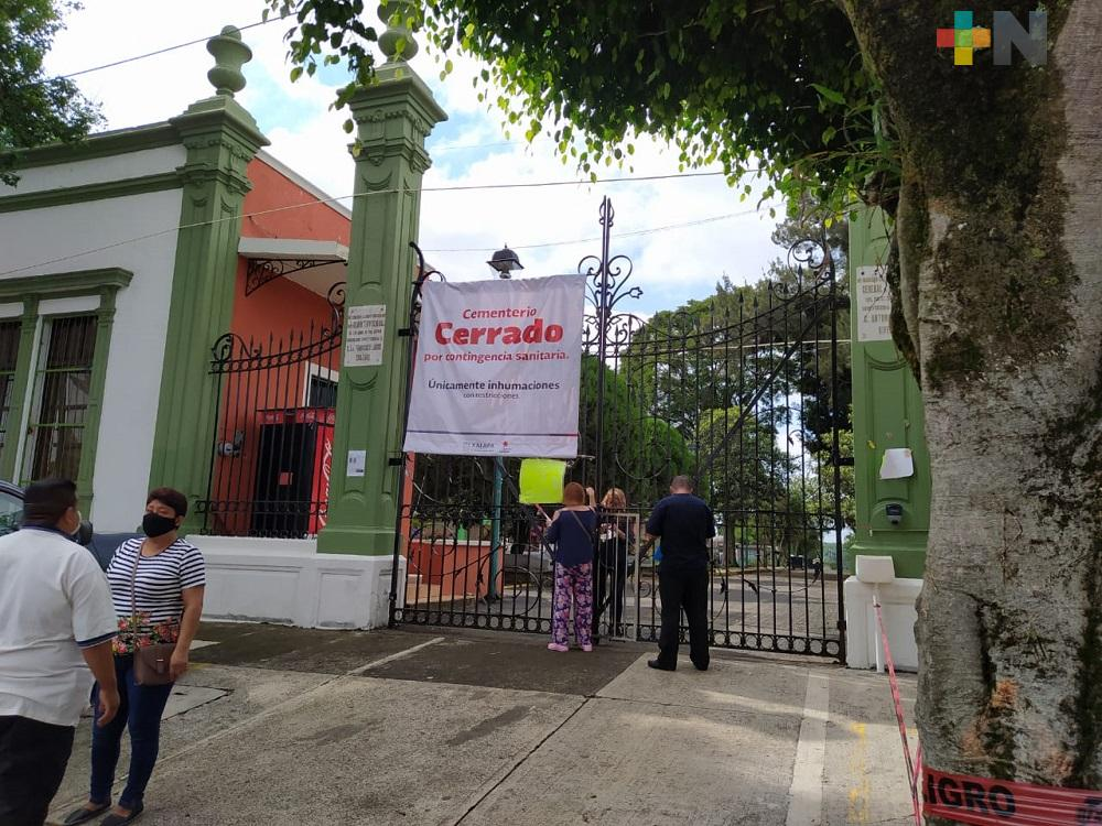 Nuevo Panteón en El Castillo quedará pendiente para la administración de Ahued