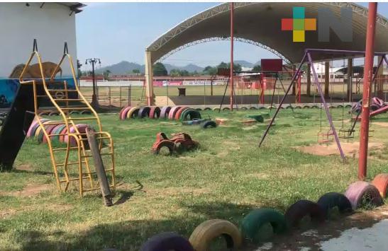 En Veracruz, dotarán de juegos infantiles a municipios con marginación y rezago social