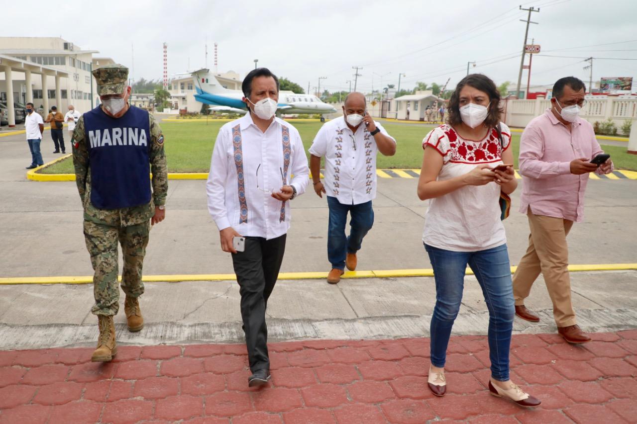 Instruye gobernador Cuitláhuac García iniciar evaluación de posibles daños por sismo