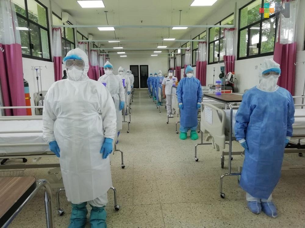 Se registraron 108 nuevos casos positivos y 31 fallecimientos por covid en Veracruz