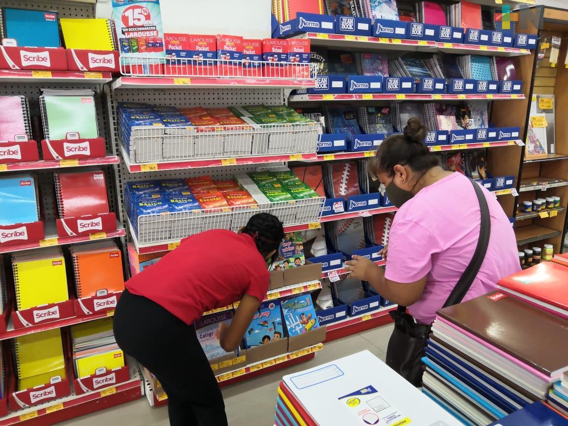 Clases presenciales reactivarán economía en papelerías