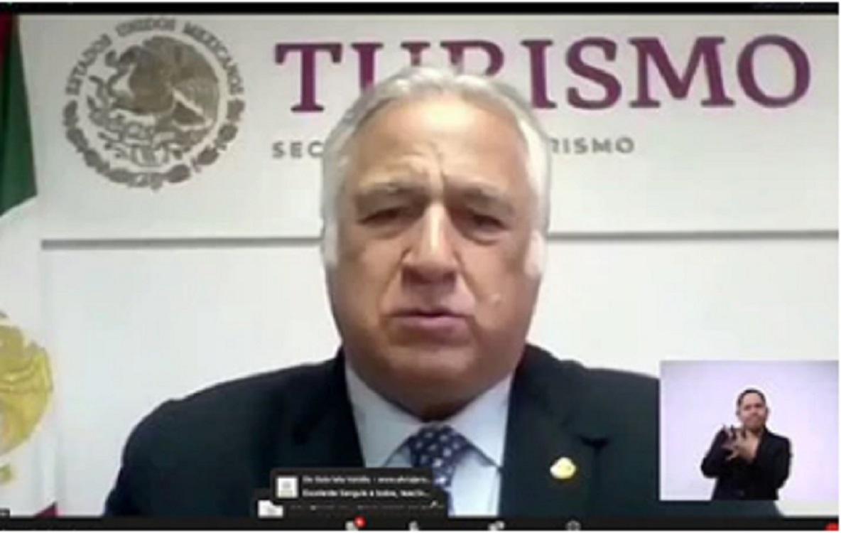 """""""En América hemos trabajado para una pronta reactivación de la industria turística"""": Miguel Torruco"""