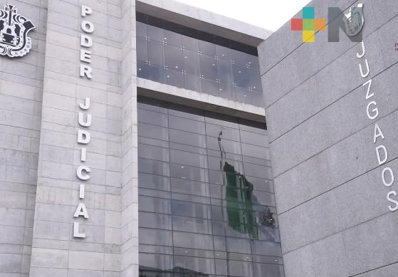 A causa de afectaciones por huracán Grace, juzgados de distritos judiciales de Papantla, Poza Rica y Tuxpan suspendieron actividades