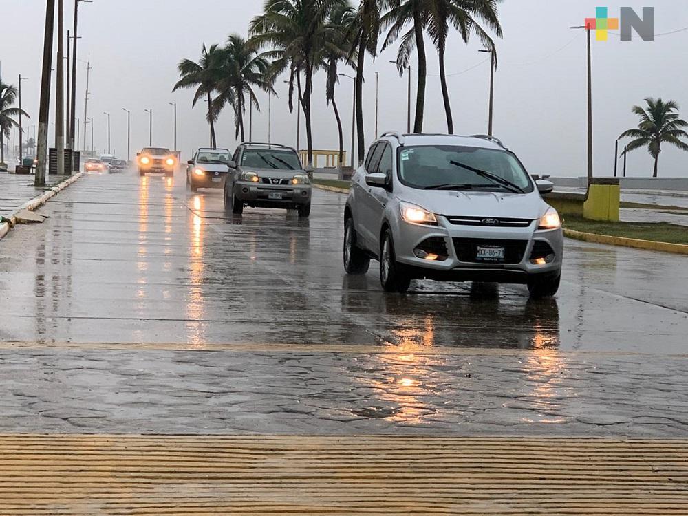 Lunes entrará Frente Frío 39 a entidad veracruzana, se espera lluvia y Norte