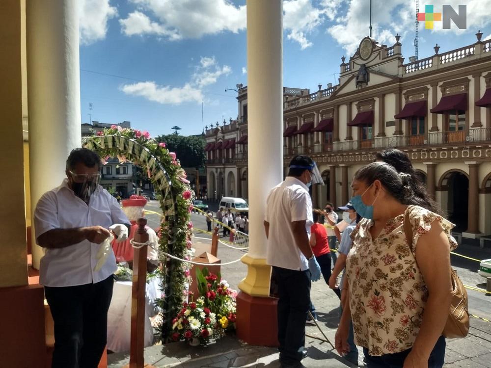 Devotos de diferentes municipios agradecen favores y milagros a San Rafael Guízar