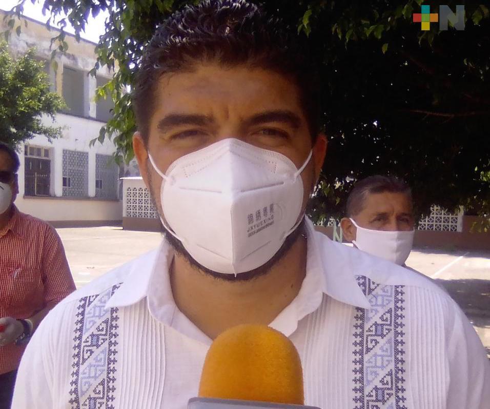 En Veracruz se trabaja en revertir el rezago en infraestructura y tecnología educativa: Zenyazen Escobar
