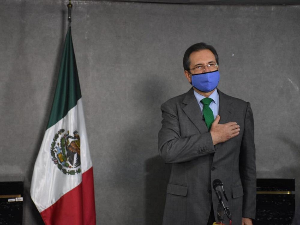 Cartas Credenciales del embajador Esteban Moctezuma son aceptadas por el presidente Joe Biden de EE. UU.