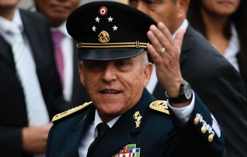 Gobierno de EU retiró cargos  de narcotráfico y lavado de dinero a Salvador Cienfuegos