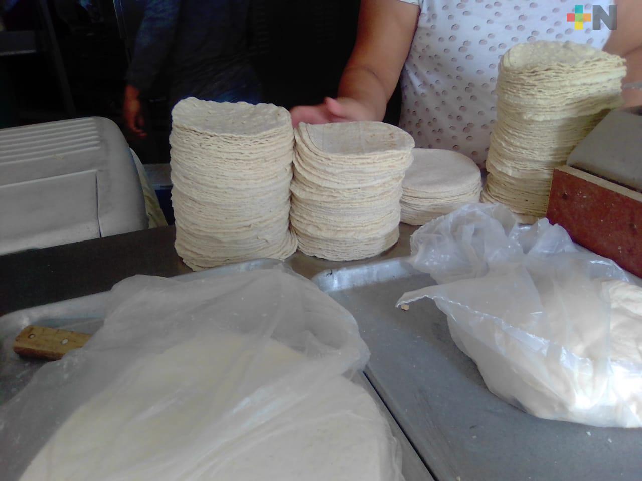 Procuraduría Federal del Consumidor reporta precio estable de la tortilla