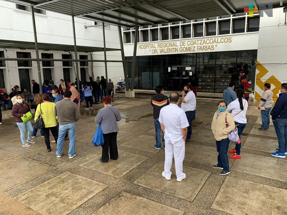 Suma Veracruz 9,081 fallecidos por COVID-19; hay 58,863 casos positivos