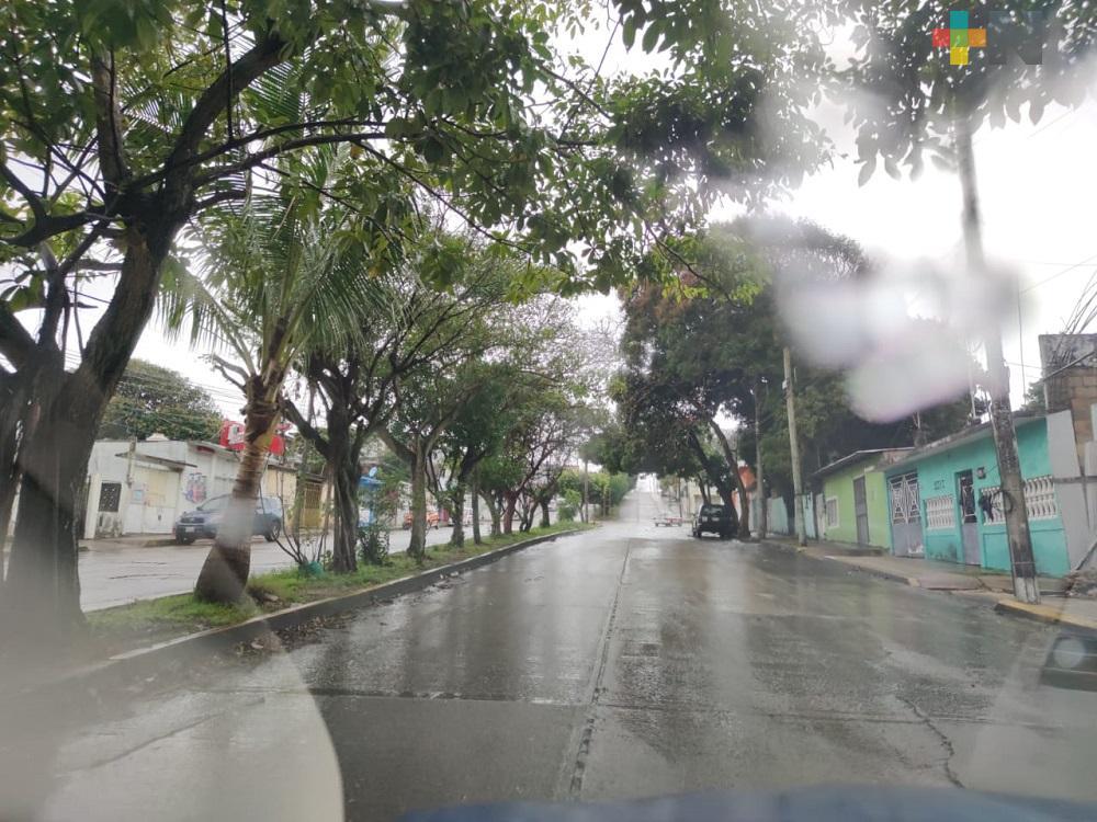 En el estado de Veracruz aún faltan tres frentes fríos, todavía en mayo se presentaría alguno