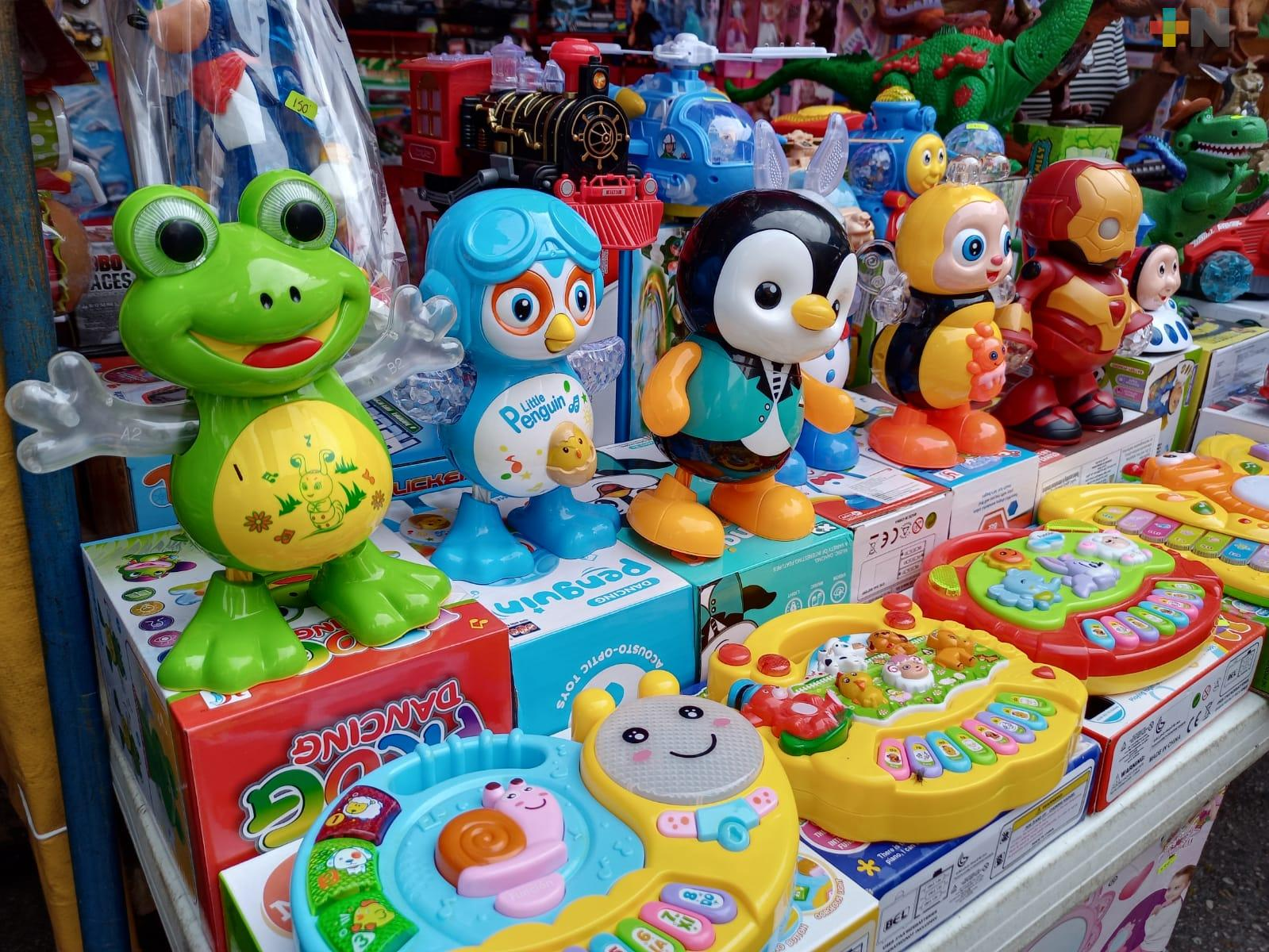 Día del Niño aumenta expectativa de vendedores de juguetes