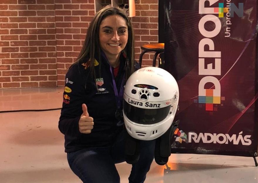 Laura Sanz brindará clínica de automovilismo