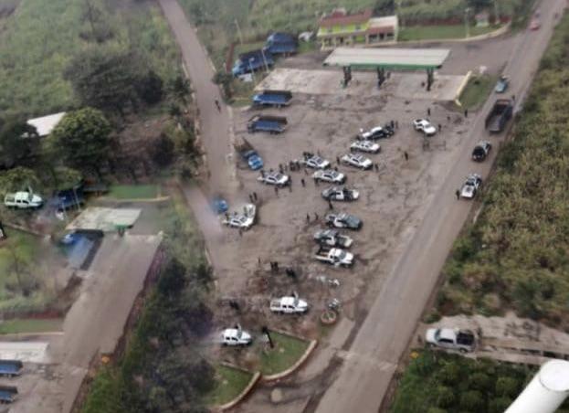 Sujetos armados atacaron camiones cañeros en Omealca; SSP realizó operativo