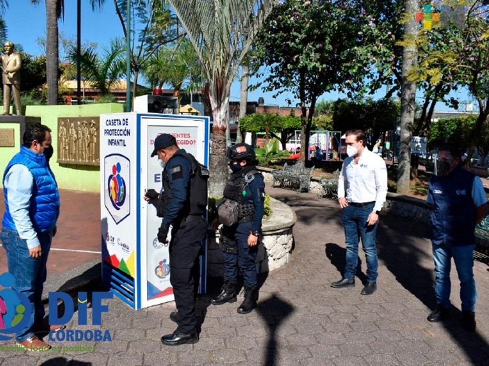 DIF de Córdoba pone en marcha Casetas de Protección contra Violencia