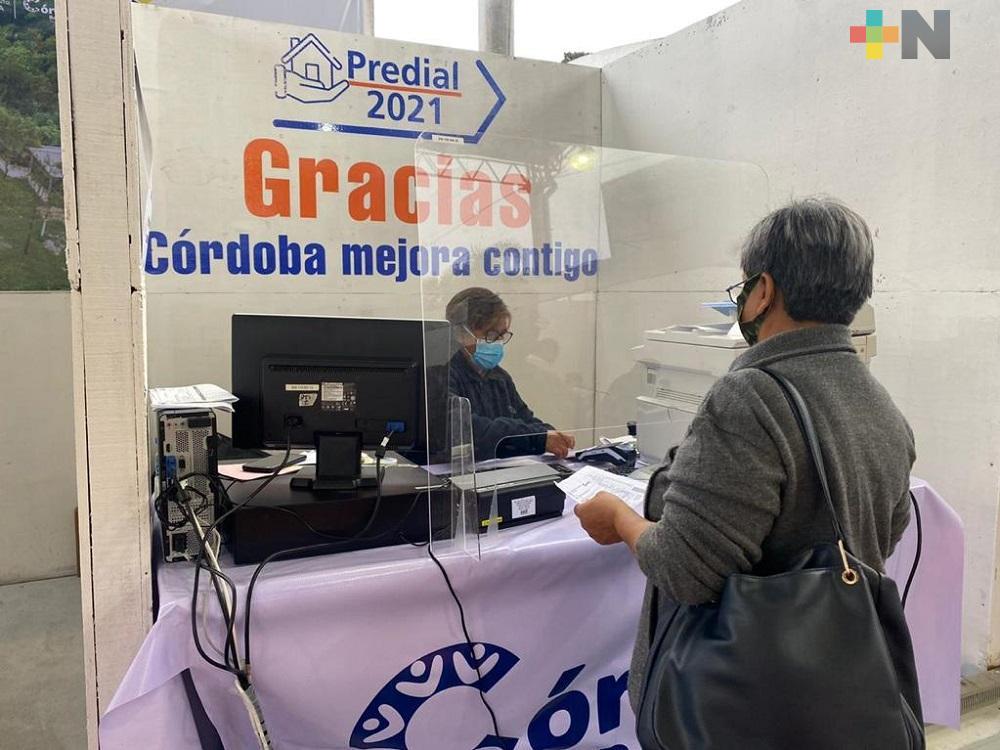 En enero, Ayuntamiento de Córdoba recaudó más de 36 mdp por pago de predial y limpia pública