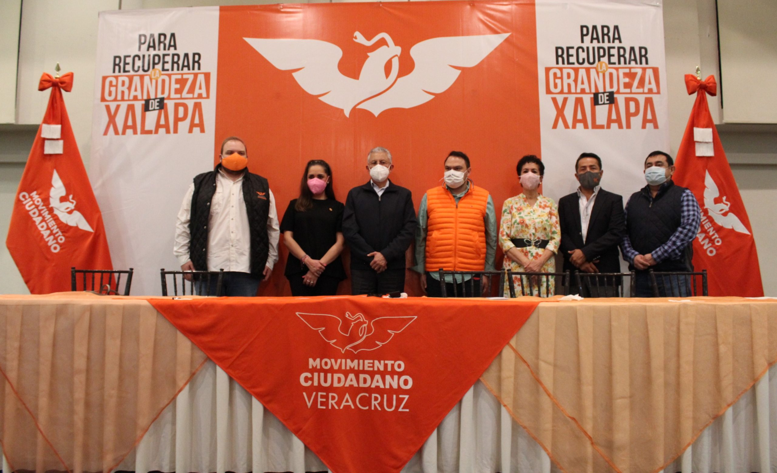 Movimiento Ciudadano presentó a Raúl Arias como su candidato a la alcaldía de Xalapa