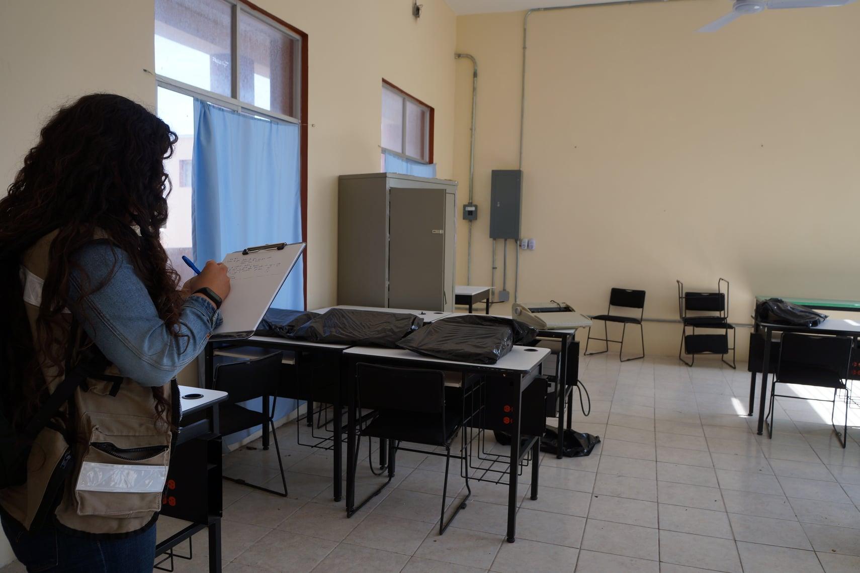 SEV atiende 24 escuelas afectadas por robos, en Veracruz y Boca del Río