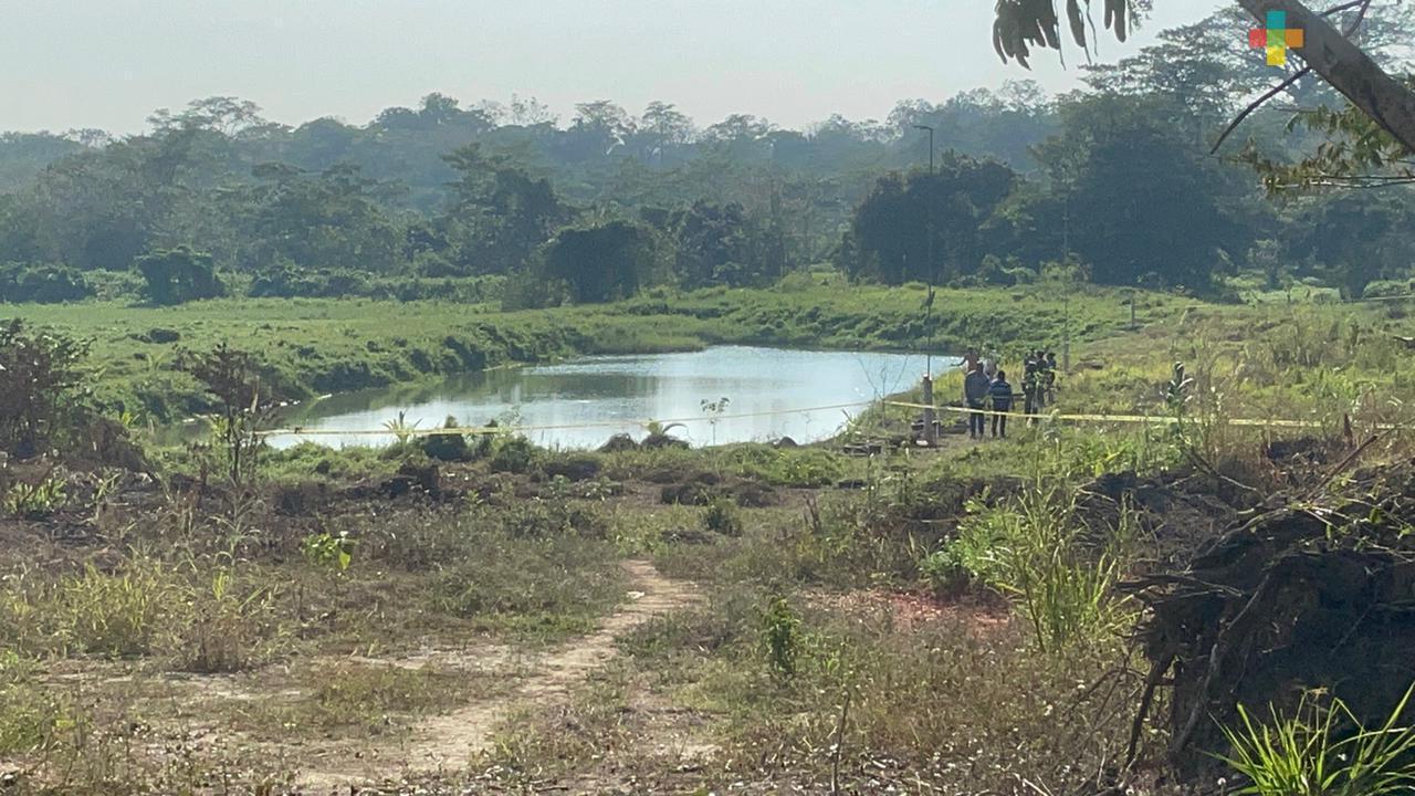 En una represa del municipio de Acayucan fallecieron ahogadas dos personas