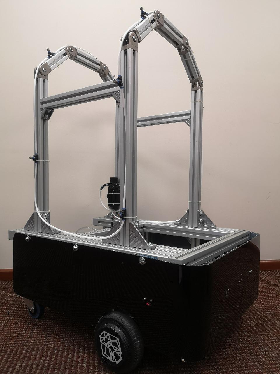 Crean en el Tec de Monterrey robot para combatir COVID-19