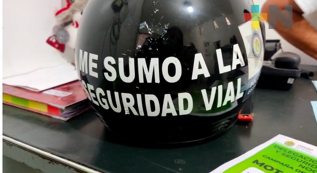 En Nogales, buscan concientizar sobre el uso de casco en motociclistas