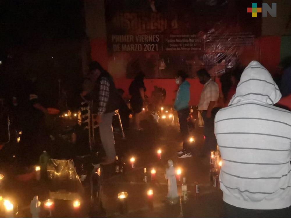 Hasta de manera virtual o con cubrebocas, chamanes y hechiceros celebraron el Día de los Brujos, en Veracruz