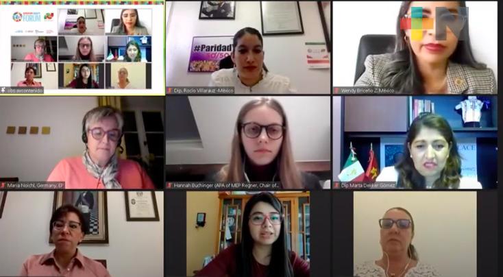A nivel nacional, el trabajo legislativo avanza para consolidar la igualdad de género: Dorheny García Cayetano