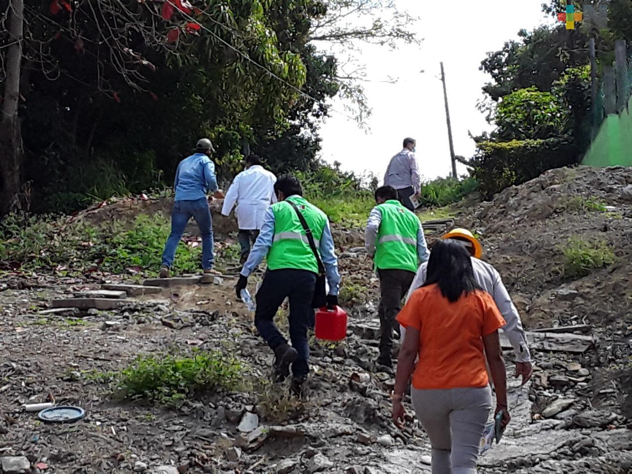 En Poza Rica, elimina Salud 10 toneladas de cacharros para evitar proliferación del dengue